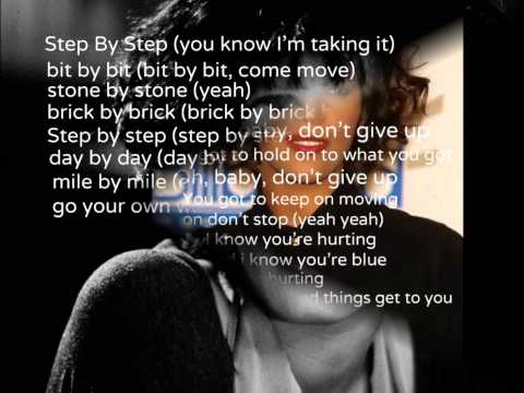 Whitney Houston-Step by Step (with lyrics)
