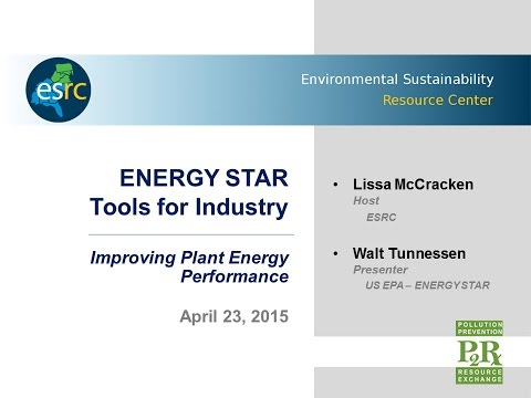 ENERGY STAR Tools for Industry - Improve Energy Performance