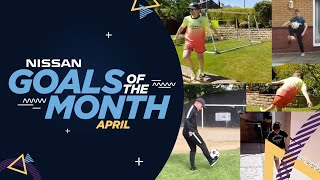 APRIL FAN GOALS OF THE MONTH
