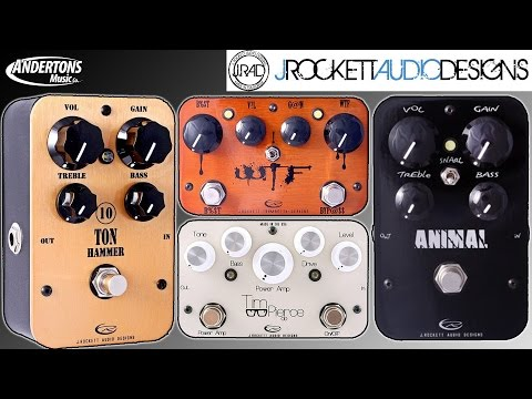 J Rockett Pedal Run Through - Animal, 10 Ton Hammer, WTF & Tim Pearce OD