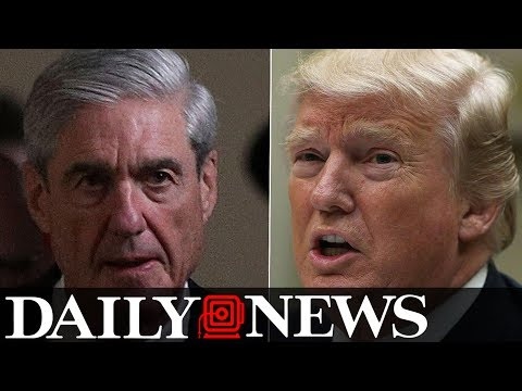 Trump cautions Robert Mueller from prying into his finances