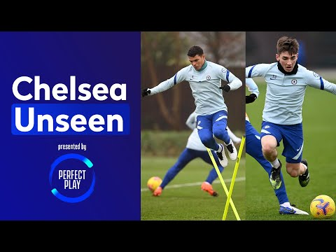 Hard Work Continues For Gilmour, Silva And The Rest Of The First Team | Chelsea Unseen