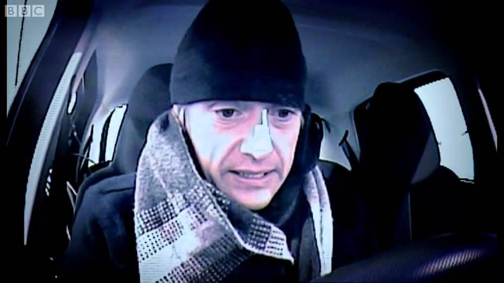 Man VS Car in Arctic Weather: Hammond Vs Citroen C1 | Top Gear Winter Olympics