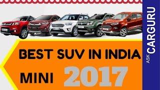 Best SUV, Mini, CARGURU, हिन्दी में, Duster, WR V, Creta, TUV 300, Fiat Avventura & All suv
