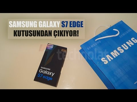 Samsung Galaxy S7 Edge Unboxing