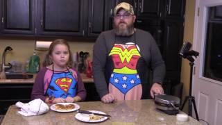 Easy Breakfast Hack: Quick Cinnamon Roll Mickey Waffles