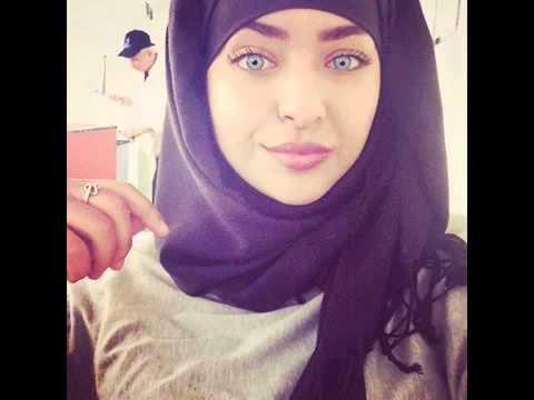 A chechen hijabi woman masturbating in webcam - 5 1