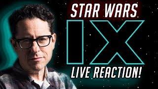 STAR WARS EPISODE 9: RISE OF SKYWALKER - Star Wars Celebration Live Panel Reaction Stream