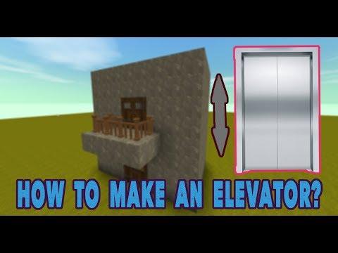 Mini World: Block Art Creation  How To Make A Simple Elevator  WadaGames