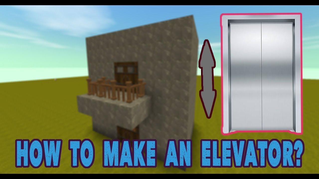 Mini World: Block Art Creation - How To Make A Simple Elevator | WadaGames