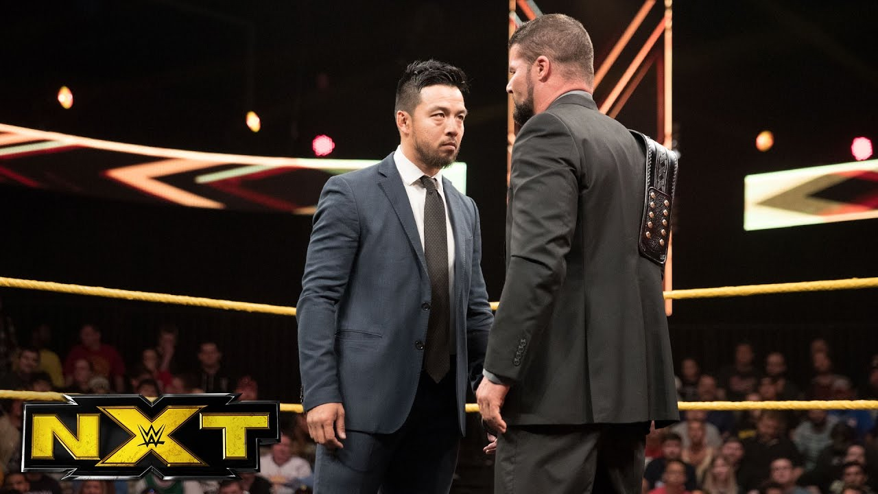 Hideo Itami returns to confront NXT Champion Bobby Roode: WWE NXT, April  19, 2017 - YouTube