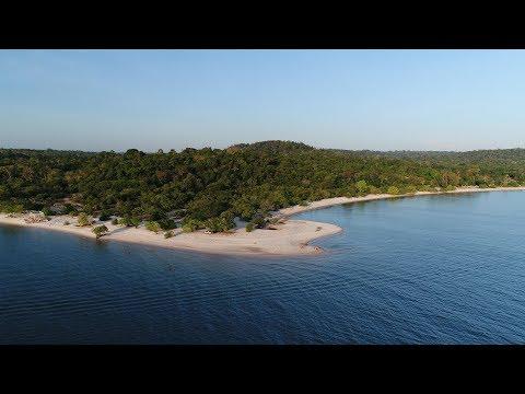 Praia do Cajutuba em Belterra Pará