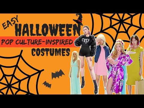 Easy Halloween Costumes From Pop Culture (2017) | Camille Co