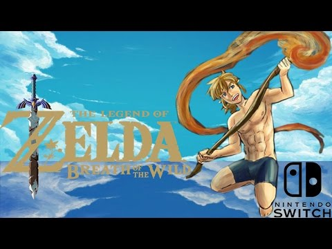 breath of the wild zelda naked