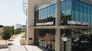 George W. Hawkes Downtown Library Celebrates One Year Anniversary
