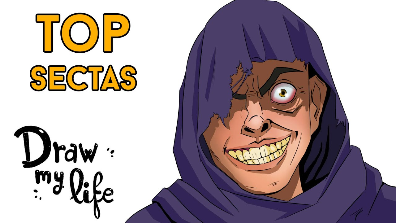 Las SECTAS ACTUALES MÁS PELIGROSAS 😰 | Draw My Life en Español