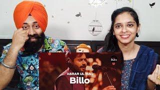 Indian Reaction on Coke Studio Season 12 | Billo | Abrar Ul Haq | PunjabiReel TV