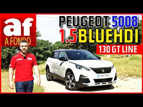 Фото к видео: Peugeot 5008 1.5 BlueHDI 130 GT Line | Review al detalle