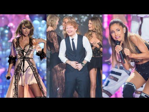 2014 Victorias Secret Fashion Show Performances Taylor, Ariana  Ed