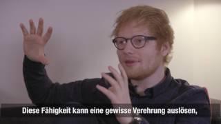 Ed Sheeran: «Auch die Queen geht jeden Morgen aufs Klo»