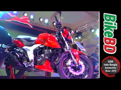 TVS Motorcycles At Indo Bangla Automotive Show 2019