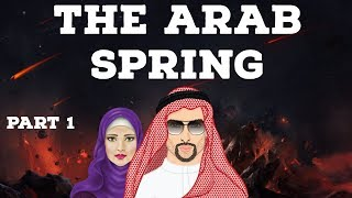 The Arab Spring Part 1 - Uprising for political reforms & social justice - North Africa & West Asia