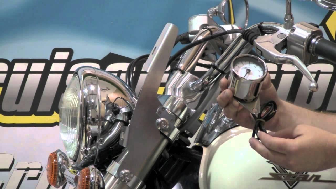 medium resolution of  maxresdefault wwge46 motorcycle tachometers hd video youtube drag specialties tachometer wiring diagram at cita asia