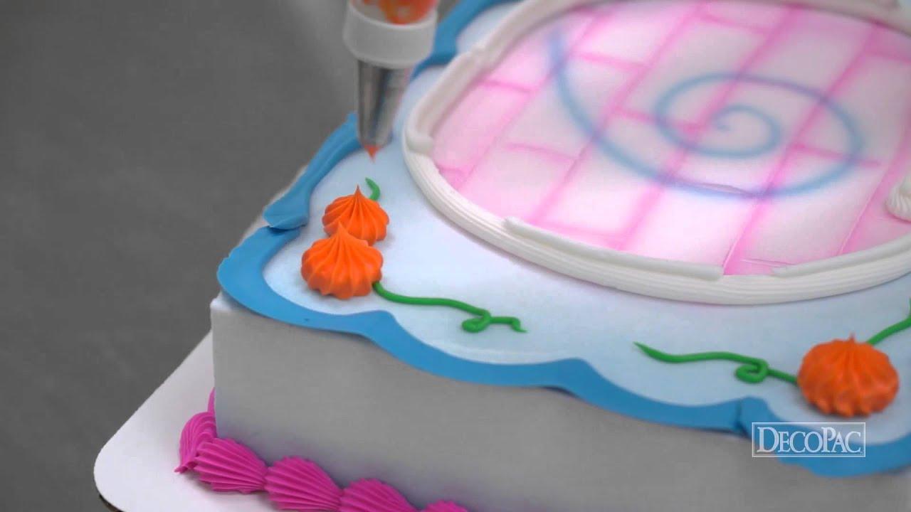 how to make a disney princess cake youtube