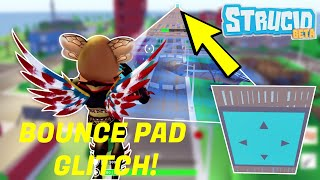 *NEW* STRUCID BOUNCE PAD SPEED RUN GLITCH! *WORKING* (roblox)