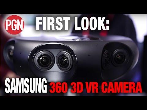 FIRST LOOK: SAMSUNG 4K 360 3D VR Camera!