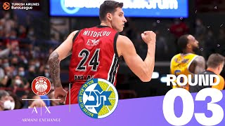 Milan undefeated after dumping Maccabi!   Round 3, Highlights