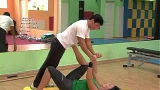 тренировка с партнером