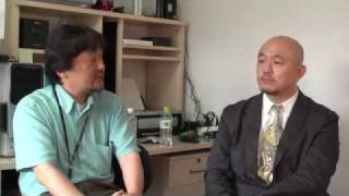 100630高田昌幸インタビュー09 2010年6月30日、現役の新聞記者で「記者...