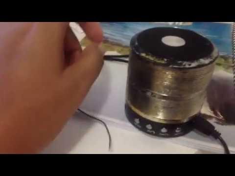 Sintonizar rádio caixa Bluetooth 887 sem antena usando cabo usb