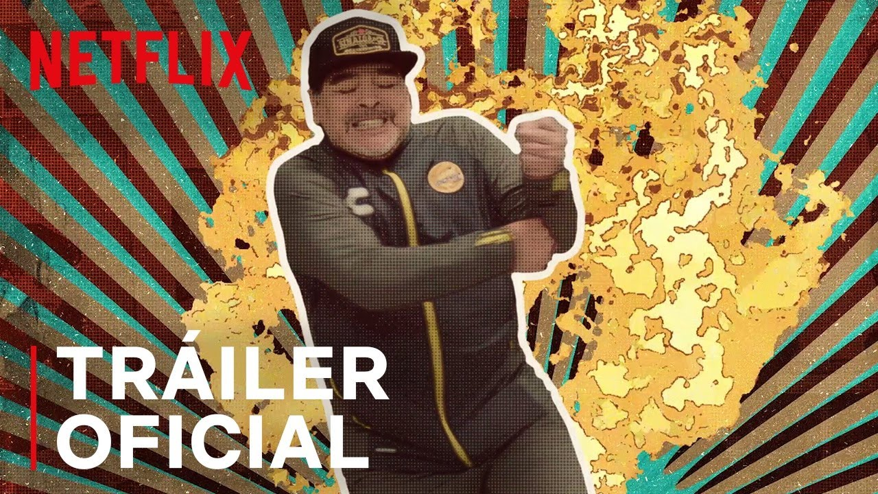 Maradona en Sinaloa. Foto: Netflix