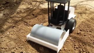 Cómo Hacer Un Rodillo Compactador a Radio Control (muy fácil de hacer)