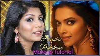 Deepika Padukone Makeup Tutorial | Happy New Year Lovely Song  | SuperPrincessjo