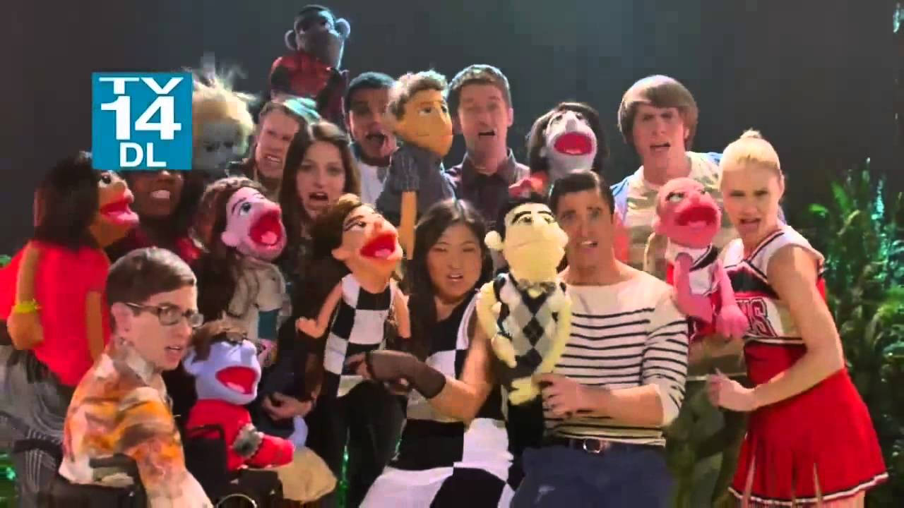 glee season 5 episode 7 promo preview puppet master hd
