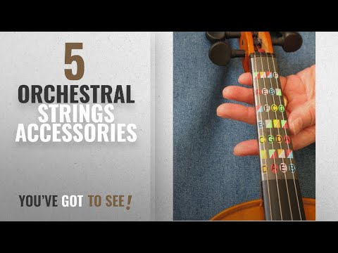 Top 10 Orchestral Strings Accessories [2018]: Fretless Finger Guide for Full (4/4) Size Violin