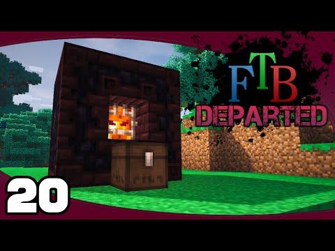 Let's Play FTB Departed - Ep. 20: Infernal Furnace   FTB Departed Modpack Let's Play
