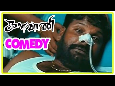 Kalavani Comedy Scenes   Tamil Comedy   Ganja Karuppu Comedy   Vimal   Soori   Oviya   Ganja Karuppu