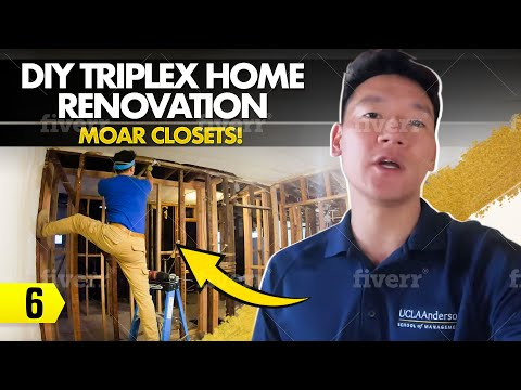 DIY Triplex Home Renovation – 06 –  MOAR Closets!