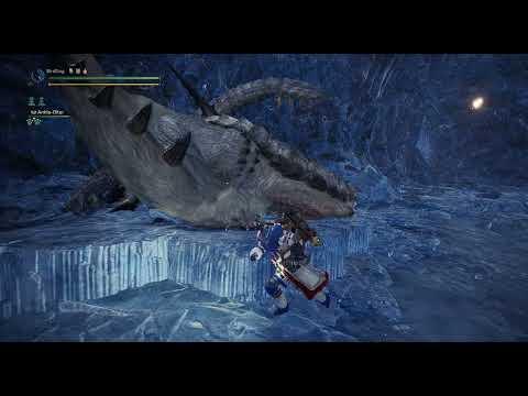 Barioth brawl | Monster Hunter World: Iceborne | Master Rank |