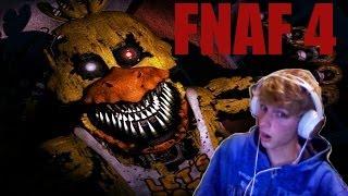 FNAF4 JEST NAPRAWDE STRASZNY! Five Nights At Freddy's 4 Noc #1 i #2