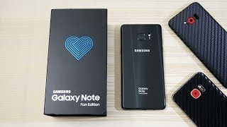 Galaxy Note FE - Unboxing! (4K)