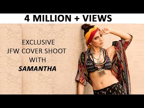 Samantha Gorgeous Photoshoot | JFW Cover Shoot with Samantha | #Samantha | JFW Magazine