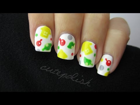Animal Crossing Nails   Nerd Nail Series