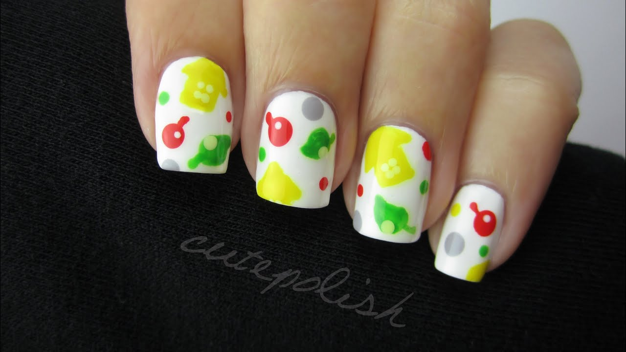 Animal Crossing Nails | Nerd Nail Series - YouTube