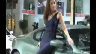北京车展极品美女车模
