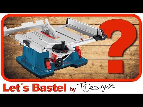 Kreissäge für Anfänger erklärt | Wie bediene ich eine Kreissäge |Bosch GTS 10 XC